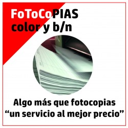 FOTOCOPIAS B/N ó COLOR